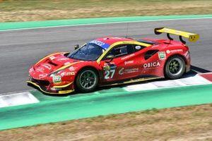 #27 Scuderia Baldini 27, Ferrari 488 GT3 Evo: Giancarlo Fisichella, Stefano Gai, Daniel Zampieri