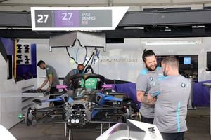 Car of Jake Dennis, BMW i Andretti Motorsport, BMW iFE.21