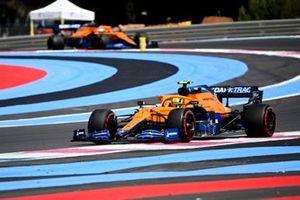 Ландо Норрис, McLaren MCL35M, Даниэль Риккардо, McLaren MCL35M
