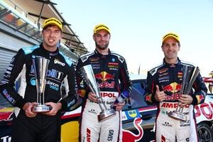 Chaz Mostert, Shane van Gisbergen and Jamie Whincup