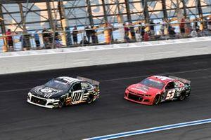 Quin Houff, StarCom Racing, Chevrolet Camaro 8 Ball Chocolate Whiskey, Cody Ware, Rick Ware Racing, Ford Mustang US Marines Military Salutes