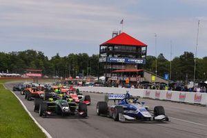 Kyle Kirkwood, Andretti Autosport leads