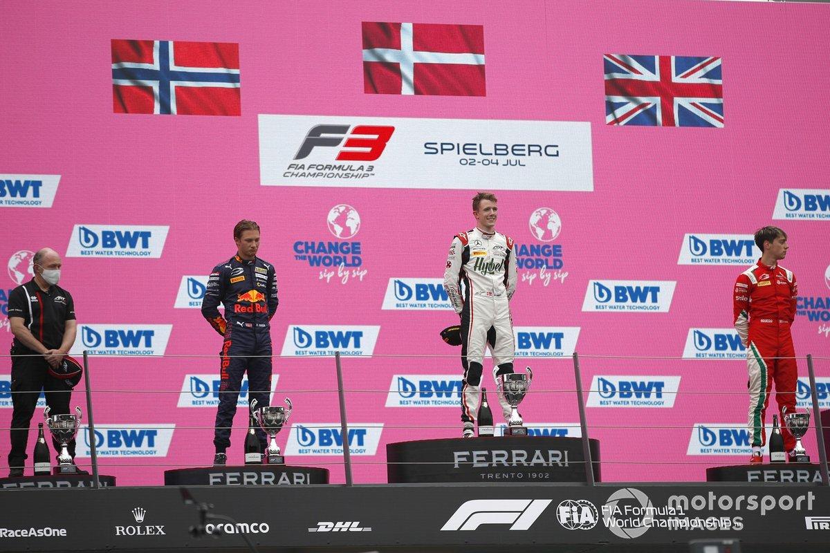 Frederik Vesti, ART Grand Prix, ennis Hauger, Prema Racing , Olli Caldwell, Prema Racing