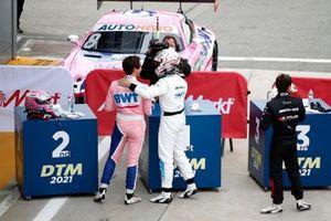 Daniel Juncadella, Mercedes-AMG Team GruppeM Racing, Vincent Abril, Haupt Racing Team