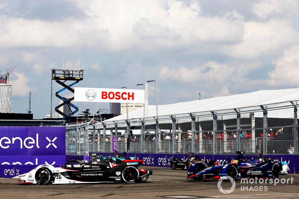 Andre Lotterer, Tag Heuer Porsche, Porsche 99X Electric, Robin Frijns, Envision Virgin Racing, Audi e-tron FE07