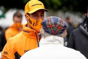 Daniel Ricciardo, McLaren y Sir Jackie Stewart