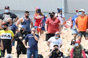Fan alle prove libere 2 del GP di Catalogna
