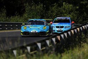 #25 Huber Motorsport Porsche 911 GT3 R: Stefan Aust, Nico Menzel, Johannes Stengel