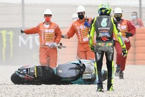 Valentino Rossi, Petronas Yamaha SRT after his crash