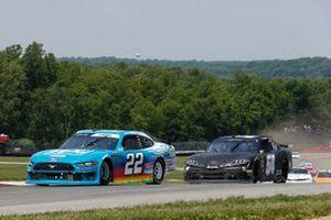 Austin Cindric, Team Penske, Ford Mustang PPG, Ty Gibbs, Joe Gibbs Racing, Toyota Supra Joe Gibbs Racing