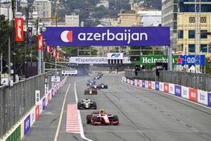 Oscar Piastri, Prema Racing and Ralph Boschung, Campos Racing