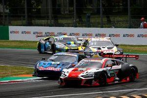 Nico Müller, Team Rosberg, Audi R8 LMS GT3, Liam Lawson, AF Corse Ferrari 488 GT3 Evo