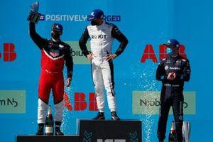 Podium: 1. Edoardo Mortara, 2. Pascal Wehrlein, 3. Nick Cassidy