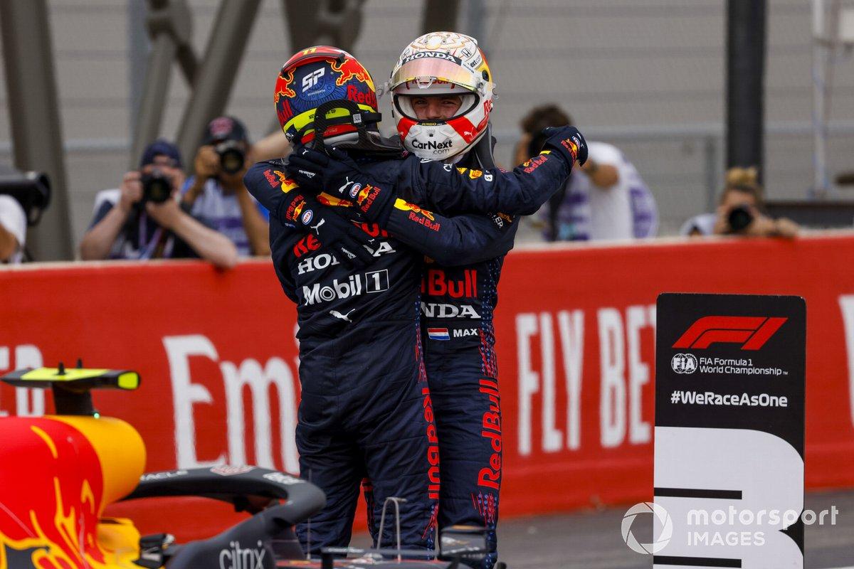 Sergio Pérez, Red Bull Racing, Max Verstappen, Red Bull Racing