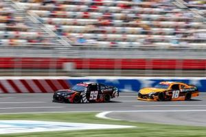 Chase Briscoe, B.J. McLeod Motorsports, Ford Mustang Production Alliance Group, Daniel Hemric, Joe Gibbs Racing, Toyota Supra Poppy Bank