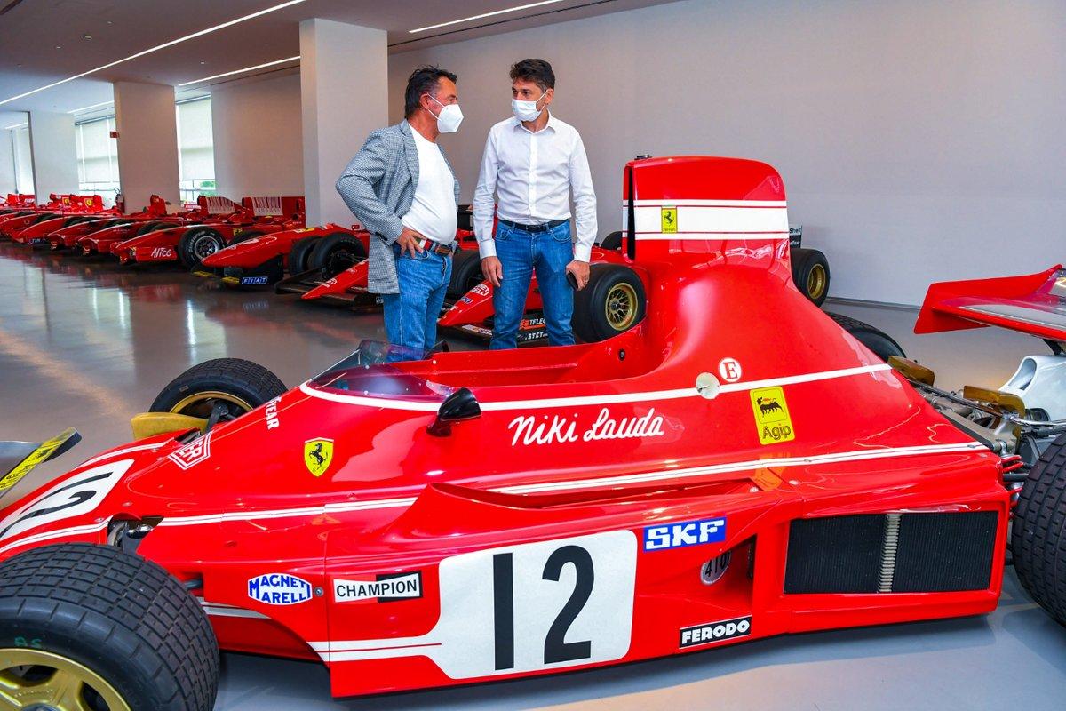 Renè Arnoux e Giancarlo Fisichella
