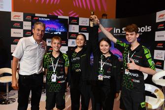 Andrew Denford, F1 in Schools at F1 in Schools World Finals