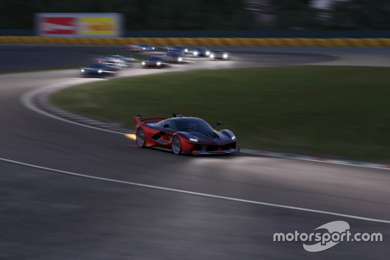 Screenshot del Ferrari Essentials de Project Cars 2