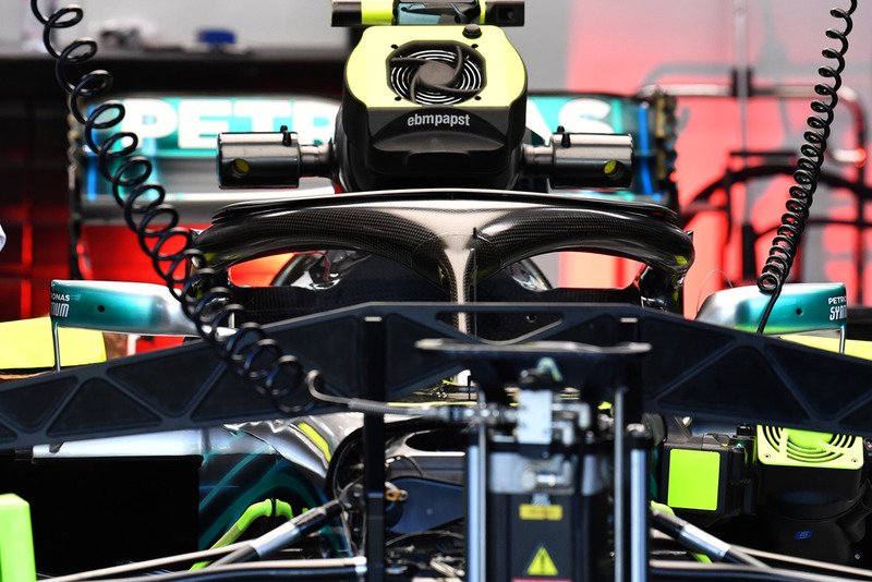 El Halo de Mercedes-AMG F1 W09