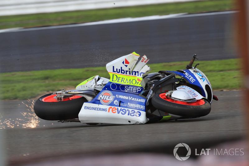 Simone Corsi, Tasca Racing Scuderia crash