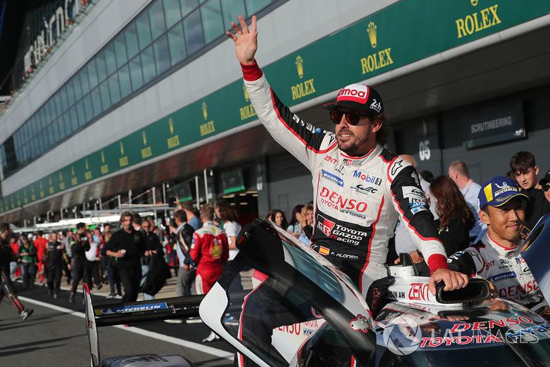 Sebastien Buemi, Kazuki Nakajima y Fernando Alonso también ganaron en las 6 Horas de Silverstone