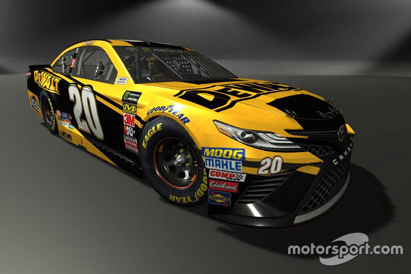 Erik Jones, Joe Gibbs Racing, Toyota Camry - NASCAR Heat 3 skin