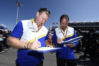 Michelin team members at work