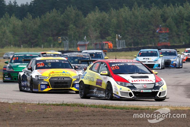Mattias Andersson, Honda Sweden, Honda Civic TCR