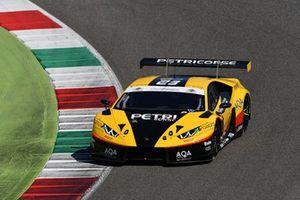 #23 Lamborghini Huracan-GT3, Petri Corse Motorsport: Palma-Barri