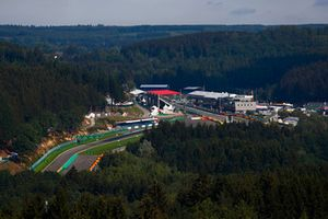 A scenic view of Spa-Francorchamps