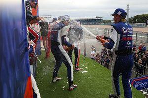Podio P3: #7 Ecurie Ecosse / Nielsen Ligier JS P3 - Nissan: Colin Noble, Alex Kapadia, Christian Stubbe Olsen