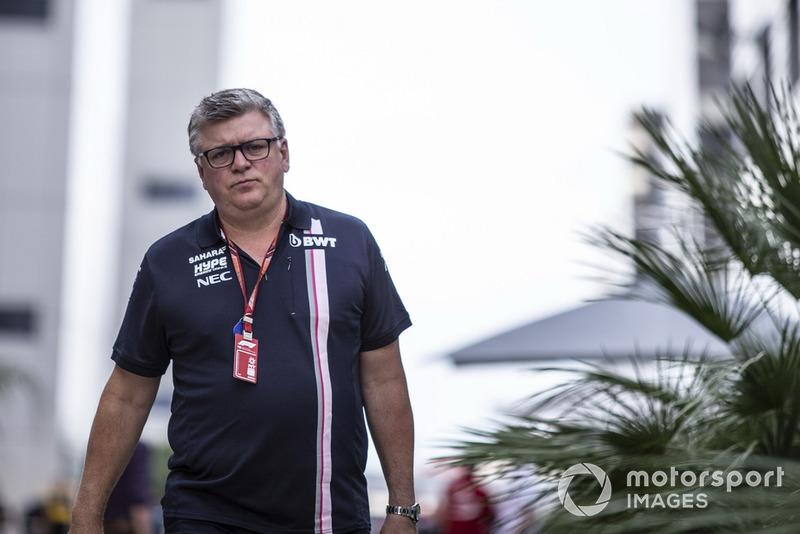 Otmar Szafnauer, Racing Point Force India Team Principal
