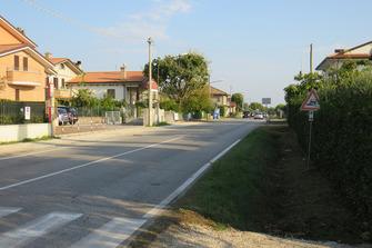Unfallstelle von Nicky Hayden in Misano