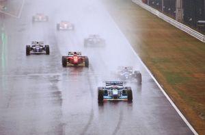 Michael Schumacher, Benetton B194 Ford leidt het veld