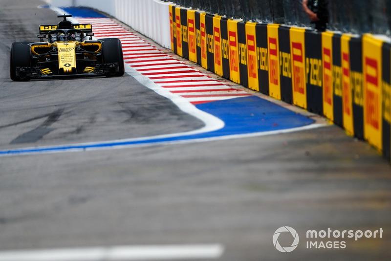 12: Nico Hulkenberg, Renault Sport F1 Team R.S. 18, no time