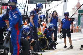 El equipo Toro Rosso