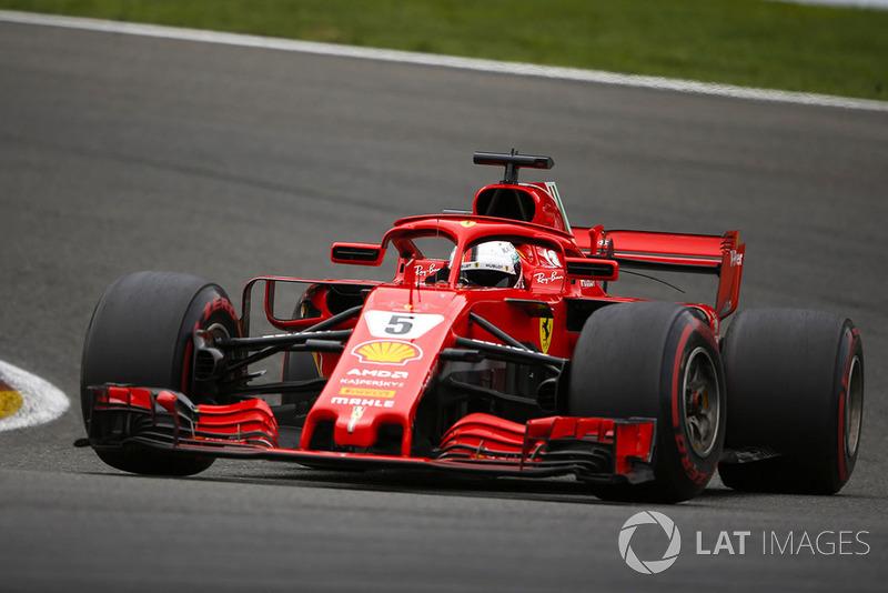 GP Belgia: Sebastian Vettel