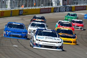 Ross Chastain, Chip Ganassi Racing, Chevrolet Camaro DC Solar, Daniel Hemric, Richard Childress Racing, Chevrolet Camaro South Point Hotel & Casino and Elliott Sadler, JR Motorsports, Chevrolet Camaro Chevrolet OneMain Financial