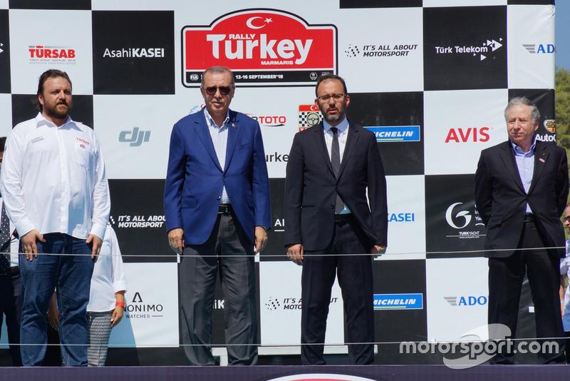 Serkan Yazıcı, TOSFED Başkanı, Türkiye Cumhuriyeti Cumhurbaşkanı, Jean Todt, FIA Başkanı