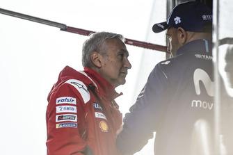 Davide Tardozzi, Team manager Ducati Team, Meregalli