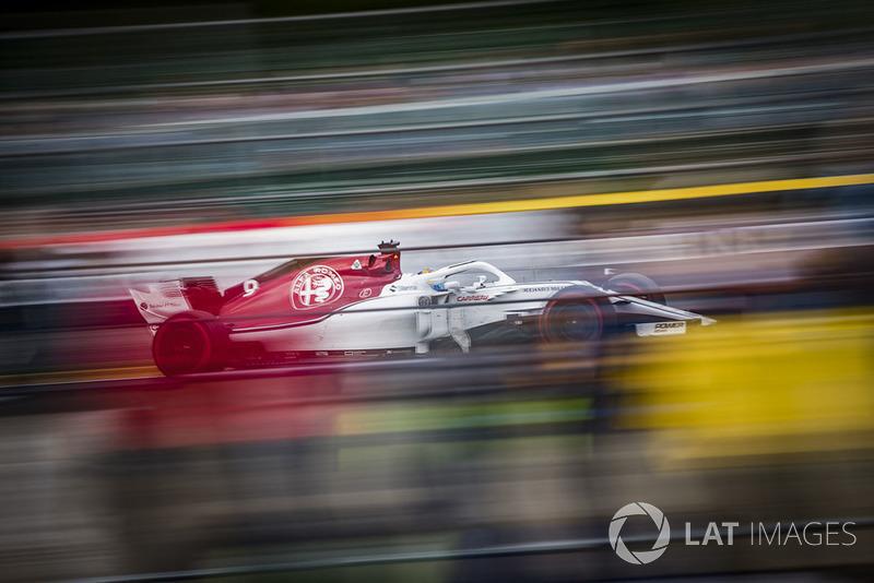 10e : Marcus Ericsson (Alfa Romeo Sauber)
