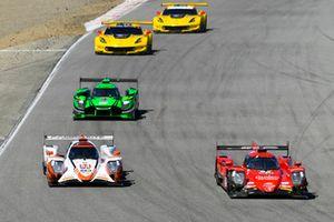 #99 JDC/Miller Motorsports ORECA 07, P: Stephen Simpson, Mikhail Goikhberg, #54 CORE autosport ORECA LMP2, P: Jon Bennett, Colin Braun