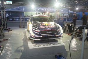 La Ford Fiesta WRC di Teemu Suninen, Mikko Markkula, M-Sport Ford