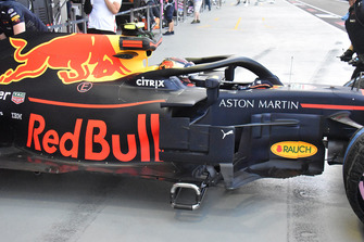 Red Bull Racing RB14, dettaglio della fiancata