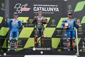 Joan Mir, Team Suzuki MotoGP, Fabio Quartararo, Petronas Yamaha SRT, Alex Rins, Team Suzuki MotoGP