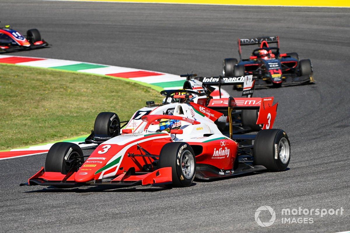 Logan Sargeant, Prema Racing, Theo Pourchaire, ART Grand Prix e Enzo Fittipaldi, HWA Racelab