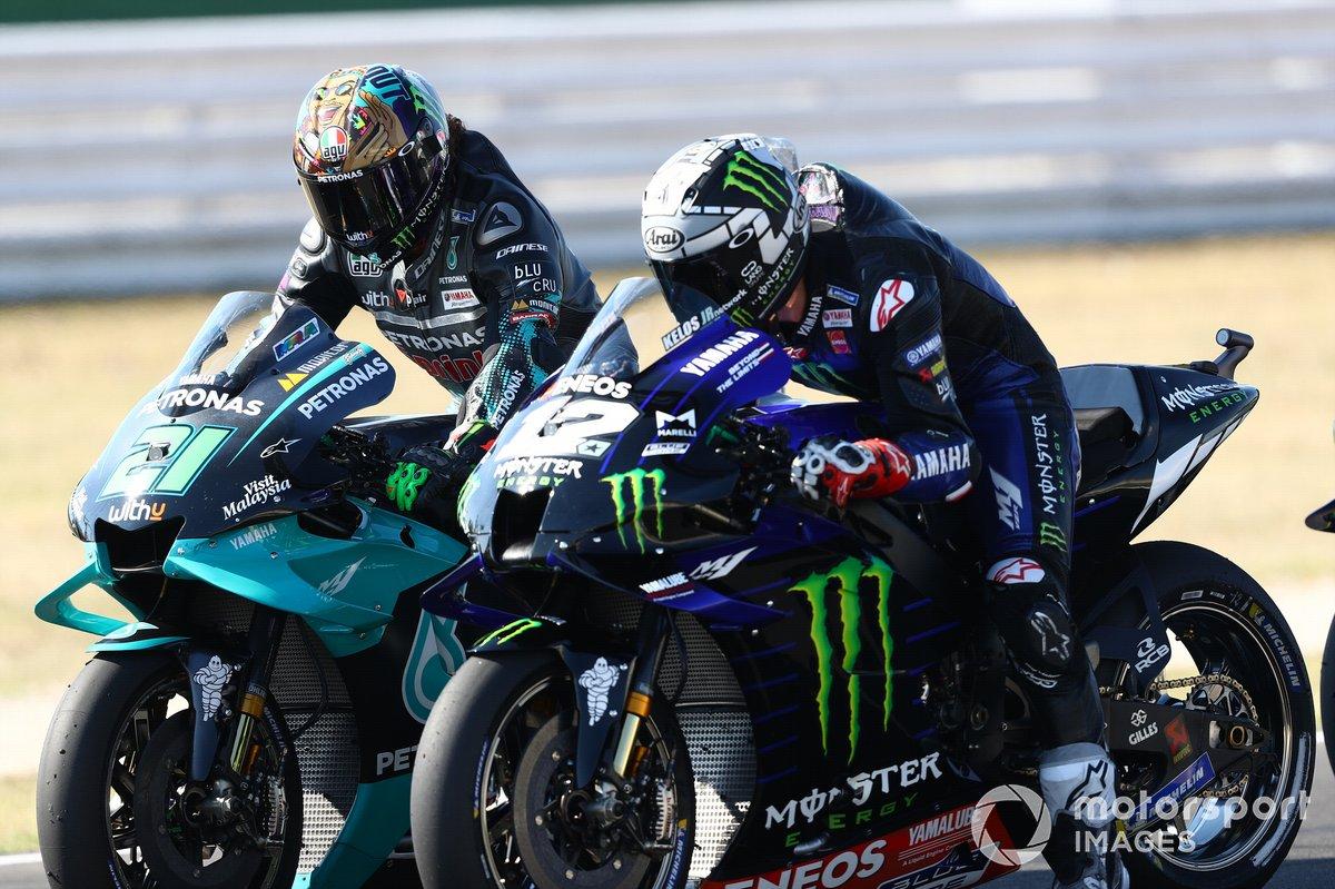 Franco Morbidelli, Petronas Yamaha SRT, Maverick Viñales, Yamaha Factory Racing