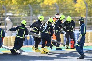 Mattia Casadei, Ongetta SIC58 Squadracorse kaza sonrası
