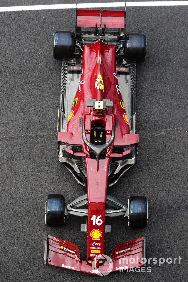 Charles Leclerc Ferrari SF1000