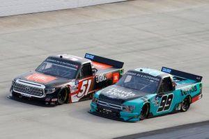 Chandler Smith, Kyle Busch Motorsports, Toyota Tundra JBL, Ben Rhodes, ThorSport Racing, Ford F-150 Tenda